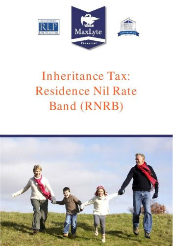 Inheritance Tax Planning - Residence Nil Rate Band