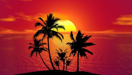 Treat Yourself To A Luxury Holiday - Tropical Sunset